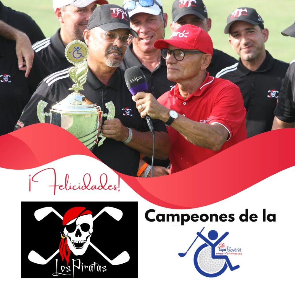 Equipo de Los Piratas ganan la 5ta Copa Jíbara
